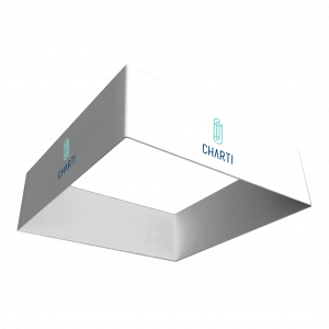 CHARTI Square Hanging Banner 1