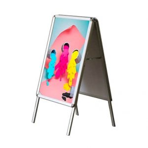 CHARTI Alum Double Sided A-Frame Display Stand 500x700mmCOV A-Frames