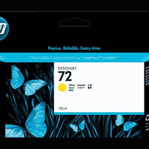 HP 72 130ml Yellow Ink Cartridge HP