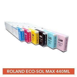 Roland Eco-Sol Max 440ml Inks BLACK Roland