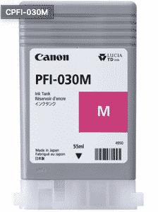 Canon PFI-030BK Magenta Ink – 55ml Canon