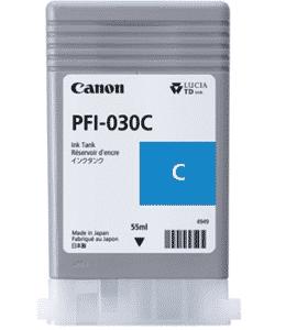 Canon PFI-030C Cyan Ink – 55ml Canon