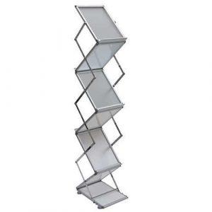 CHARTI Aluminium Catalogue Stand – A4 Accessories