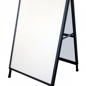 CHARTI Outdoor Double Sided A-Frame 600x900mm (5mm board ins A-Frames