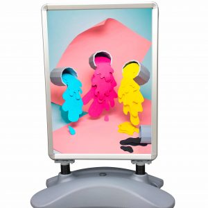 CHARTI Outdoor Poster Stand Double Sided A1 Poster Stand