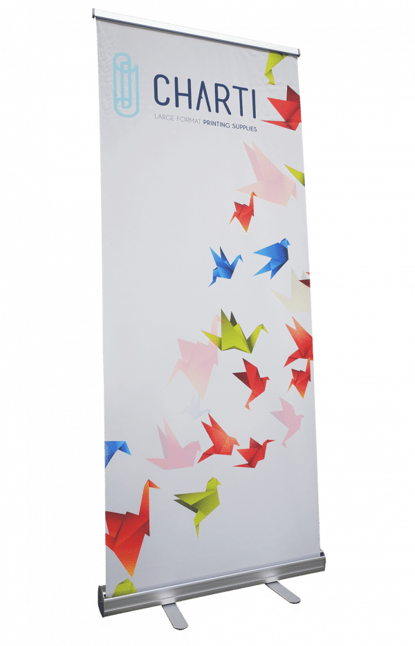 CHARTI Aluminium pull up display stand 1200X2000MM Pull-Up Banner 2